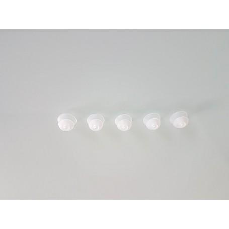 Repuesto de 5 unidades de cúpulas adaptadoras audífonos doble cerrado 10-12 milímetros